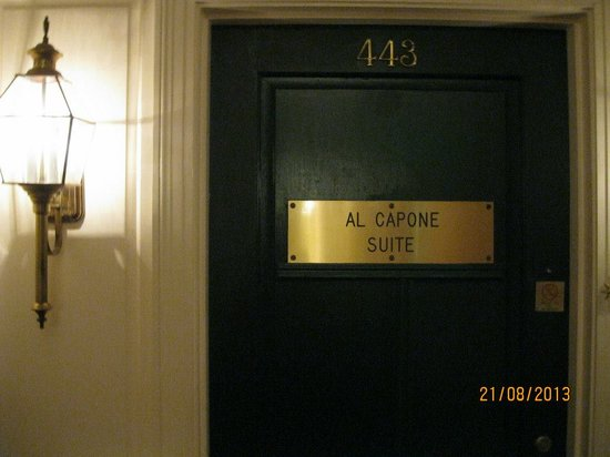 Arlington Resort Hotel & Spa: Al Capone suite on 4th floor