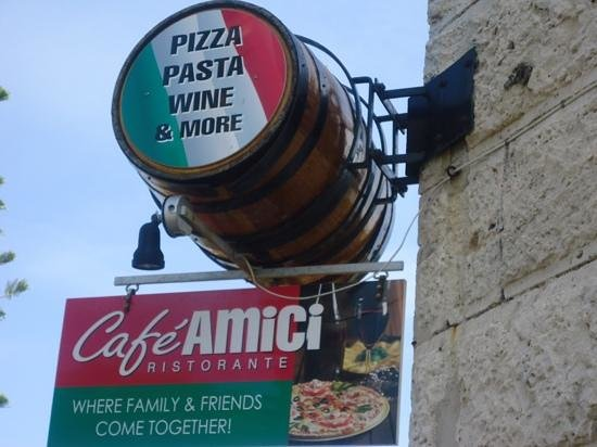 Cafe Amici: very good place..