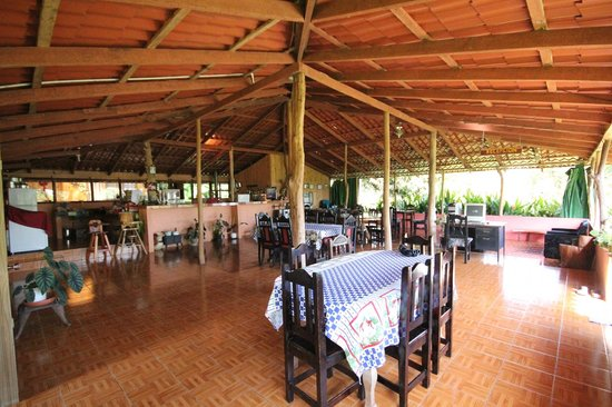 Albergue el Socorro: The dining room