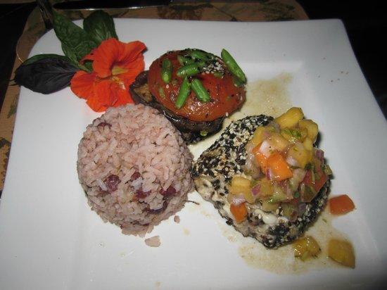 Finca Rosa Blanca Coffee Plantation Resort: dinner at El tigre vestido
