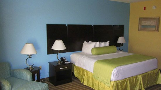 Best Western Plus Goodman Inn & Suites: Great bed