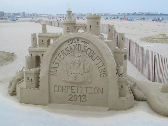 Little Jacks's Seafood Restaurant and Lobster Pool: Sand Sculpture 2013