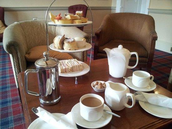 Billesley Manor Hotel : Lovely Afternoon Tea