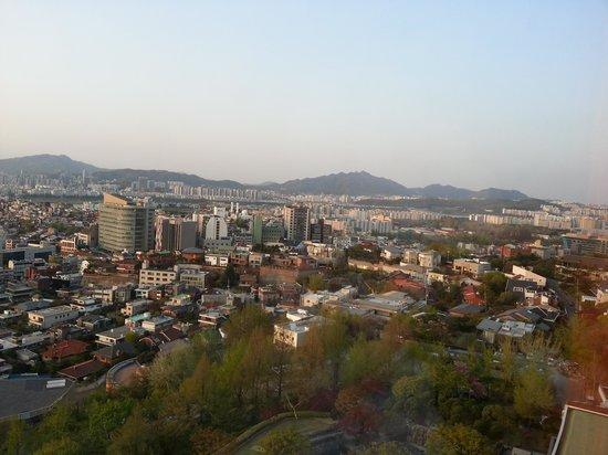 Grand Hyatt Seoul: City view from thee hotel