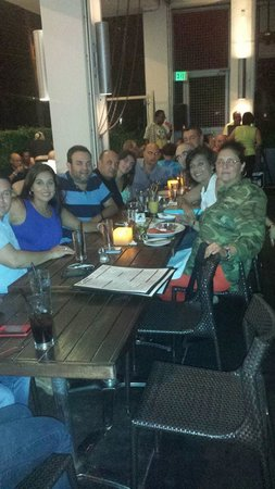 Balan's Restaurant: Dinner at Balans Biscayne on a Karaoke Saturday Evening