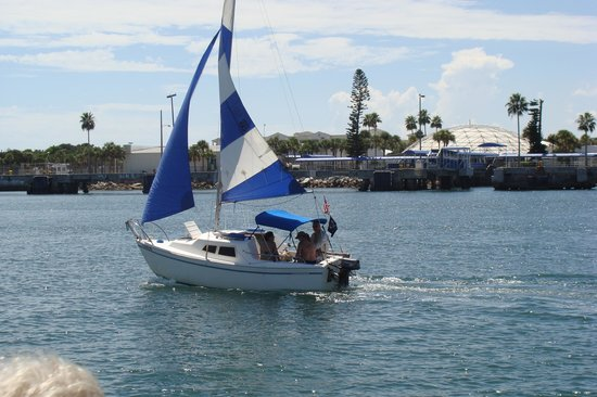 Canaveral Ocean Racer: Views along the canal