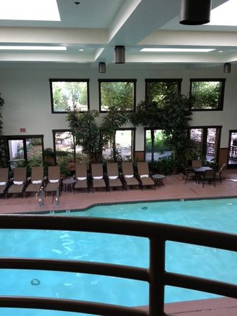 tenaya lodge at yosemite indoor pool - Cool Indoor Pools With Fish