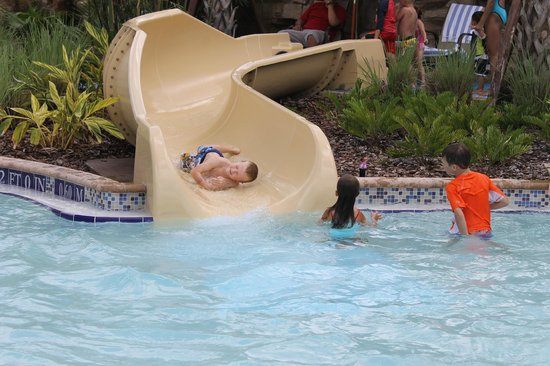 Orlando World Center Marriott: He got in a little trouble for this one!  But fun anyway!!!