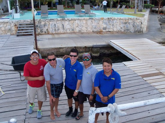 Blue Angel Scuba School: The best crew!