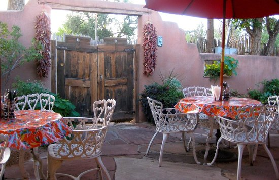 El Paradero Bed and Breakfast Inn : Outdoor patio