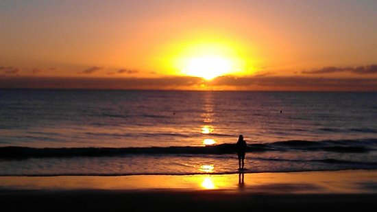 The Beach Place: right across the street - sunrise