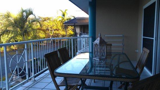 The Beach Place: balcony