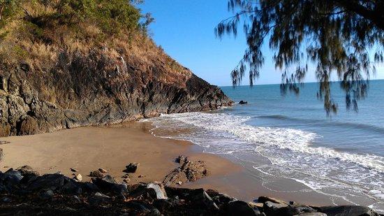The Beach Place: down the beach