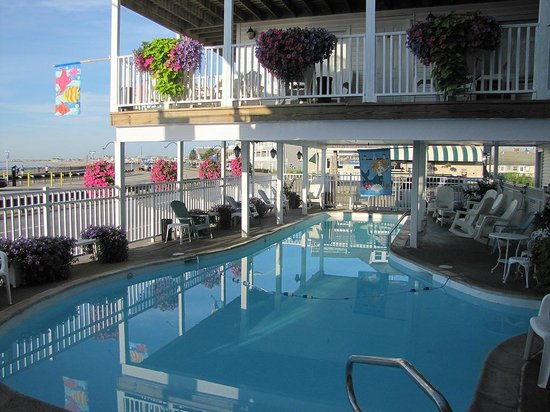 Atlantic Motel: Outdoor pool