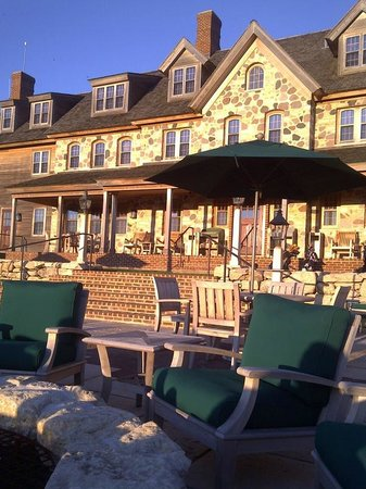Hartford, WI: Golf Lodge at Erin Hills
