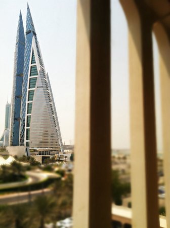 Golden Tulip Bahrain: View from my room.