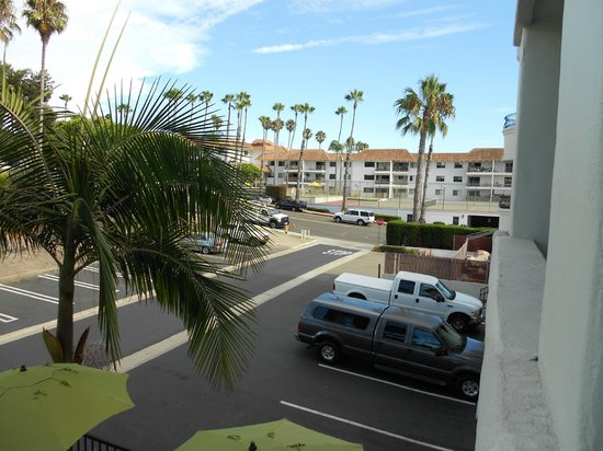 Hampton Inn and Suites San Clemente: another view from the balcony