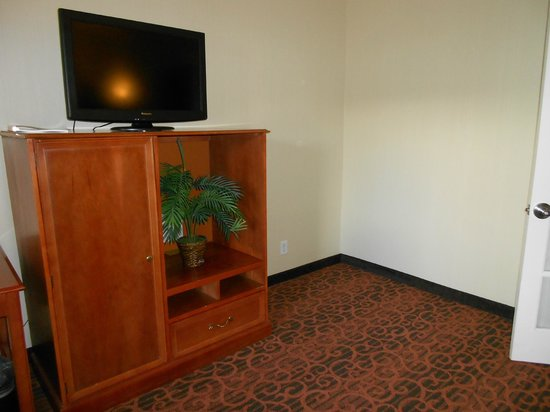 Hampton Inn and Suites San Clemente: The flatscreen in the living room