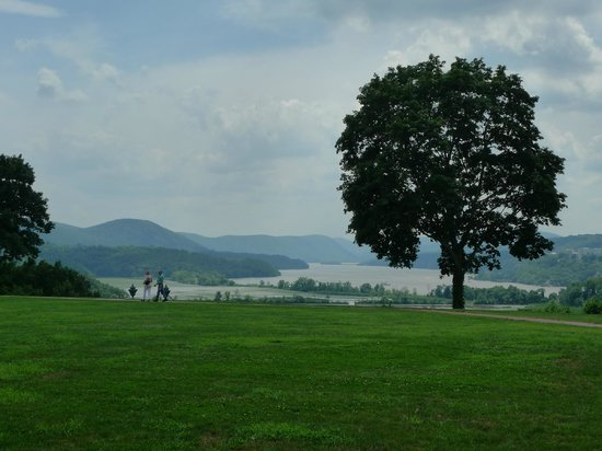 Boscobel House & Gardens: View from the house
