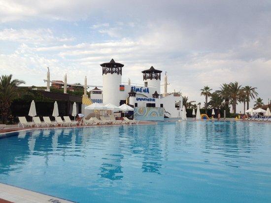Simena Sun Club: One of the few pools in the resort..