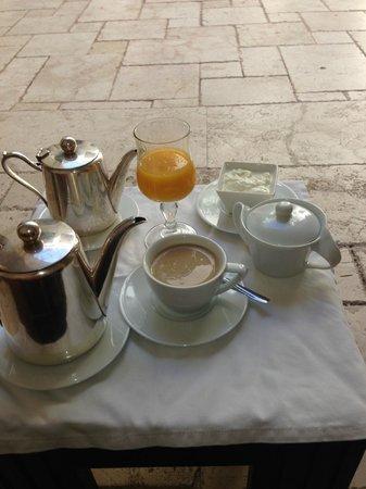 Villa Makassar: Delicious coffee and amazing orange juice!