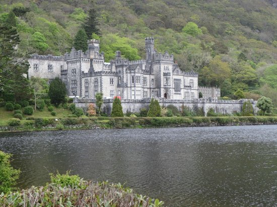 The House Picture Of Kylemore Abbey Victorian Walled