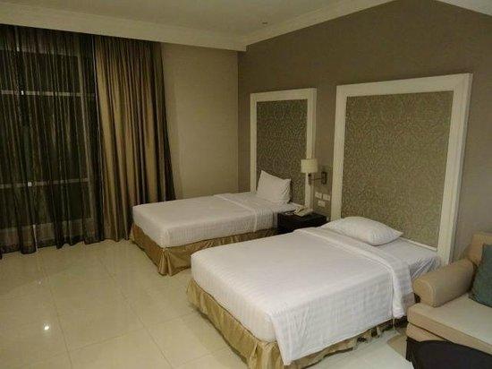 Hope Land Executive Residence: ベッドルーム
