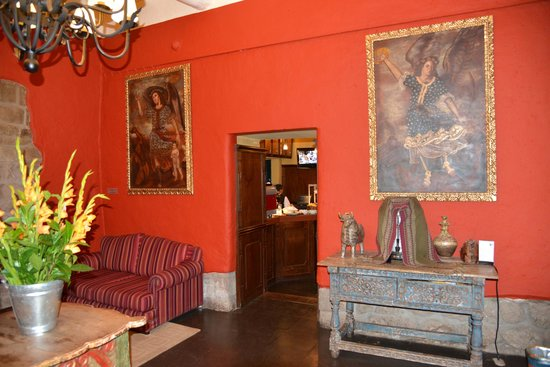 Casa Andina Premium Cusco: reception area