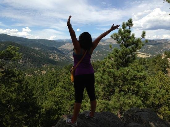 Flagstaff Mountain: free as we'll ever be