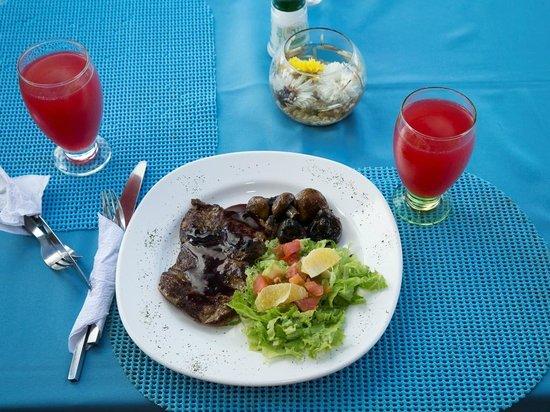 Hotel Isla Guaca: Delicioso / Delicious