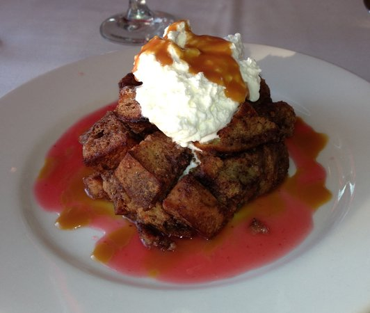 One Fish, Two Fish Restaurant: Chocolate Bread Pudding