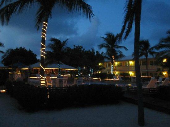 Little Cayman Beach Resort: The resort at night.