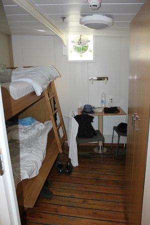 STF af Chapman & Skeppsholmen Hostel: Our two-peson room