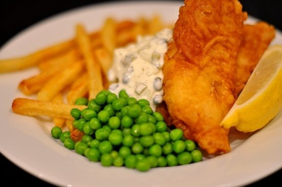 Bear's Claw Lodge: Fish & Chips