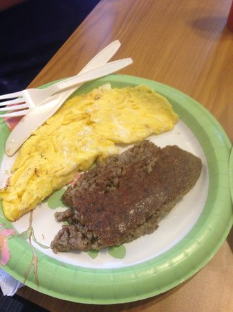 Hunt's Battlefield Fries & Cafe': Eggs and Scrapple