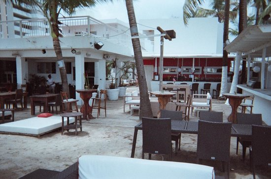 The Beach House Hotel: From the beach -- restaurant and bar