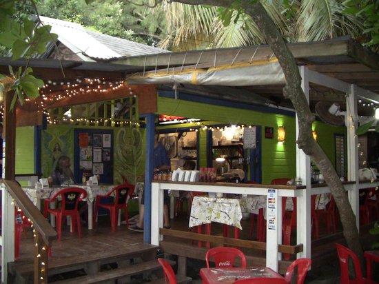 Creole's Rotisserie Chicken: Corner view.