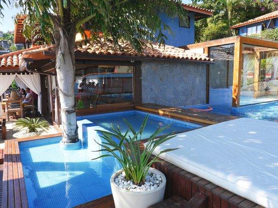 La Pedrera Small Hotel & Spa: hidro externo