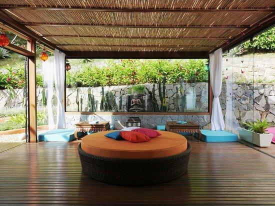 La Pedrera Small Hotel & Spa: sala relax