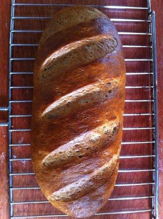 Yummy Pizza: Rye bread