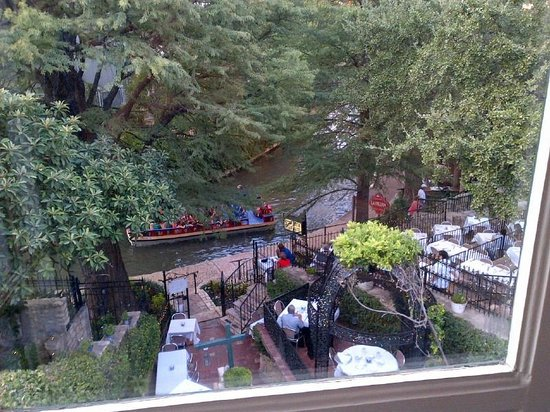 Our view from the Fig Tree Restaurant