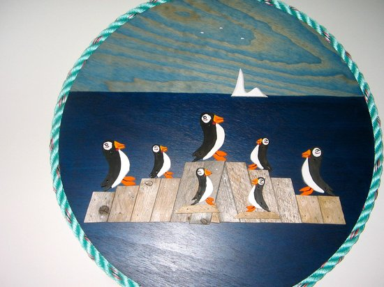 Ocean View Hotel: the only Puffins on the West coast