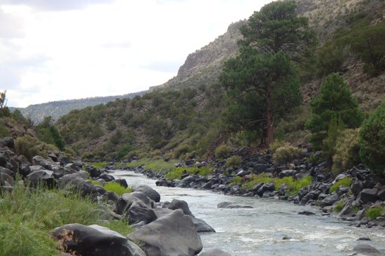 Taos, Nouveau-Mexique : Rio Grande