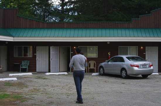 Totem Trail Motel: rooms