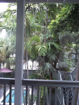 The Cabana Inn Key West: taken off of the baloney of room 34