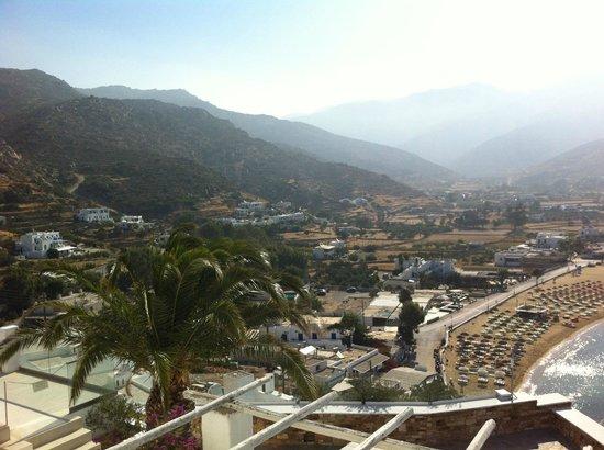 Fantasy Travel: View from Ios Palace, Ios