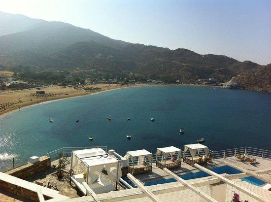 Fantasy Travel: View from the balcony, Ios Palace, Ios