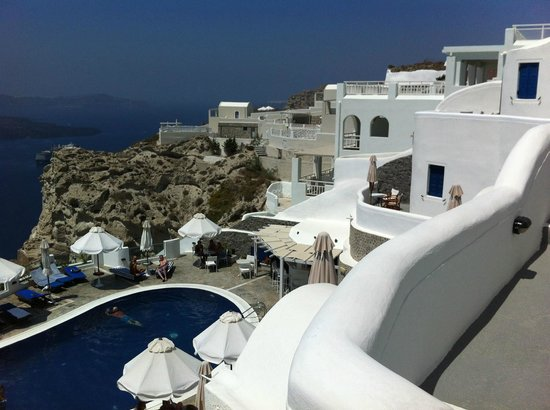 Fantasy Travel: Volcano View Hotel, Santorini