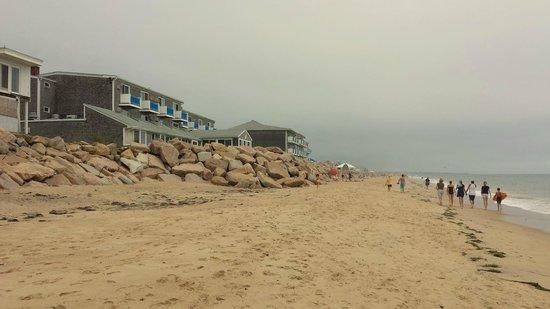 Pleasant View Inn: View from the beach