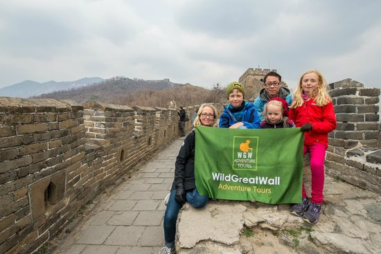 Wild Great Wall Adventure : Here we are with Ricky at The Great Wall